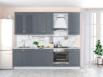 Кухня Массив Люкс 2700, Боровичи мебель