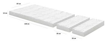 Матрац из 3-х частей для детской кроватки, Боровичи мебель