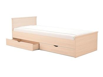 Кровать Мелисса 800 с двумя спинками и ящиками, Боровичи мебель