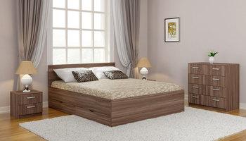 Кровать Мелисса Дрим с ящиками 1600Х2000, Боровичи мебель