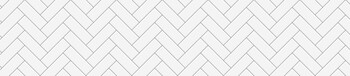 Стеновая панель МДФ 3050х610х6мм, Метро керамик БЕЛЫЙ
