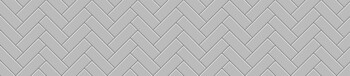 Стеновая панель МДФ 3050х610х6мм,Метро керамик СЕРАЯ