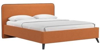 Кровать Миа 1800 тыквенный (без матраса), Нижегородмебель