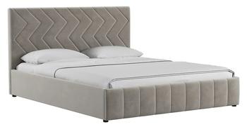 Кровать Милана 1800 Лекко фог (без матраса), Нижегородмебель