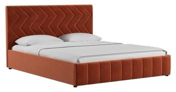 Кровать Милана 1800 Лекко терра (без матраса), Нижегородмебель
