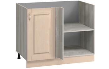 МН-41 правый Стол угловой 1000(950)х600(540)х850, Боровичи мебель