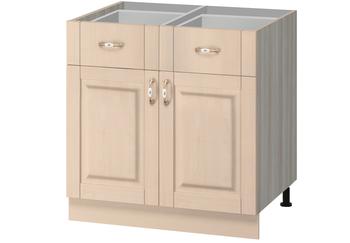 МН-73 Стол с 2-мя ящиками 800х600(540)х850, Боровичи мебель
