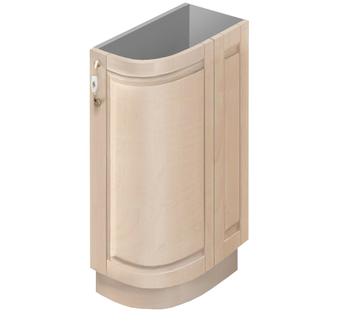 МН-75 правый Стол гнутый модерн 230х600(586)х850, Боровичи мебель