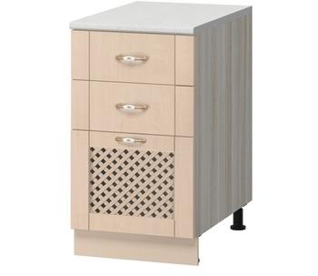 МН-59 Стол с 3-мя ящиками с решеткой 400х600х840, Боровичи мебель