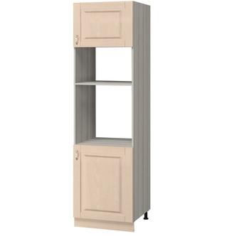 МН-62 Пенал под духовой шкаф и микроволновую печь 600х590х2350, Боровичи мебель