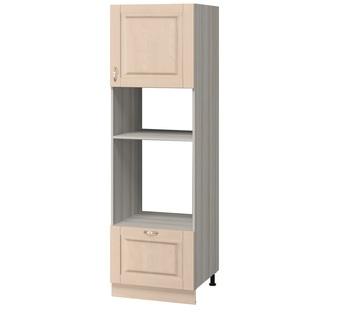 МН-65 Пенал под духовой шкаф и микроволновую печь 600х590х2125, Боровичи мебель