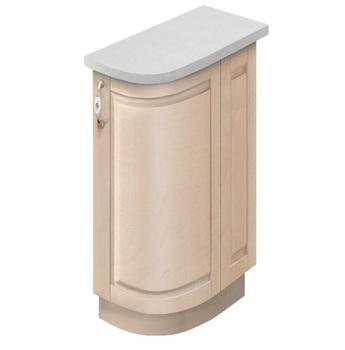 МН-75 правый Стол гнутый модерн 230х600х840, Боровичи мебель