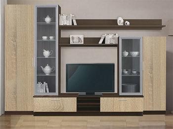 Гостиная Модерн Вариант 3, Боровичи мебель