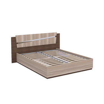 Моника Т 140 Кровать, 2052 х 1800, В 950 мм, Моби мебель