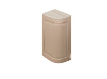 МВ-72 левый шкаф гнутый модерн 230х320х700, Боровичи мебель