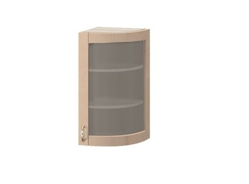 МВ-29В правый Торцевой шкаф-витрина 325х320х700, Боровичи мебель
