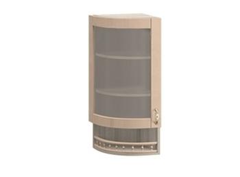 МВ-30В левый Торцевой шкаф-витрина 325х320х1155, Боровичи мебель