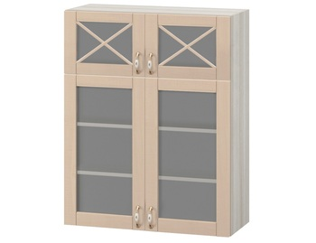 МВ-78В Шкаф витрина 800х320х1000, Боровичи мебель