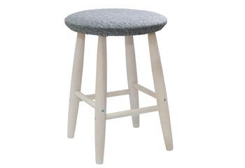 Табурет мягкая круглая крышка массив, Боровичи мебель