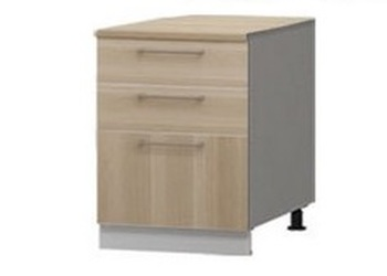Н-100, Студия, стол с 3-я ящиками 500х600х840, Боровичи мебель