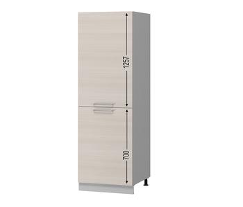 Н-104 Пенал под встраиваемый холодильник 600х590х2110 (I категория), Боровичи мебель