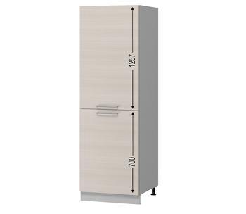 Н-104 Пенал под встраиваемый холодильник 600х590х2125 (I категория), Боровичи мебель