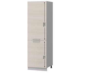 Н-106 Пенал под встраиваемый холодильник 600х590х2350 (I категория), Боровичи мебель