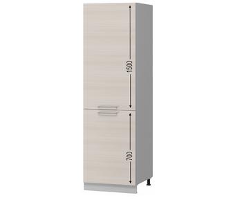 Н-106 Пенал под встраиваемый холодильник 600х590х2305 (I категория), Боровичи мебель