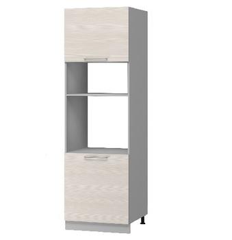 Н-108 Пенал под духовой шкаф и микроволновую печь 600х590х2355 (I категория), Боровичи мебель