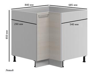 Н-124 левый Стол угловой 785/890(685/840)х600(540)/290х850 (II категория), Боровичи мебель