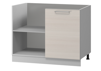 Н-77 левый Стол угловой 1000(950)х600(540)х850 (II категория), Боровичи мебель