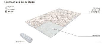 Наматрасник с синтепоном, 1400х2000, Боровичи мебель