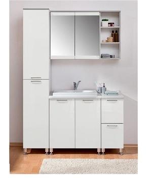 Комплект № 1 для ванной,1400х480х2070 мм, Боровичи мебель