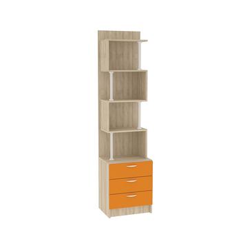 Ника, 412 Стеллаж, 490 х 386, В 1973 мм, Моби мебель