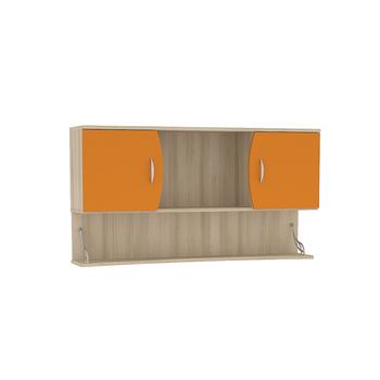 Ника, 415 Шкаф навесной, 1230 х 278, В 665 мм, Моби мебель