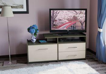 Мишель 2100 Тумба ТВ,  1200 х 430, В 538 мм, Моби мебель