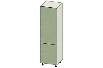 Пенал под встроенный холодильник 2 двери (716, 1316) 600х560х2140, 1 кат. Лопасня мебель