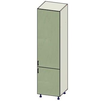 Пенал под встроенный холодильник 2 двери (716, 1516), 600х560х2340, 1 кат. Лопасня мебель