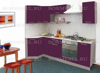 Кухня Трапеза Престиж угловая 1200х1785, 2 категория, Боровичи мебель