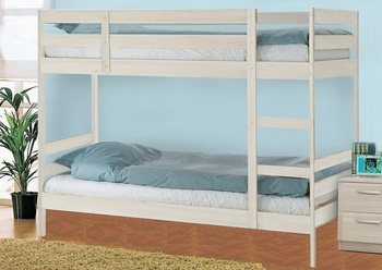 Кровать Пирус 2-х ярусная массив, Боровичи мебель