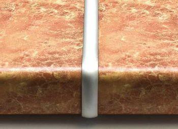Планка соеденительная для столешниц 38 мм
