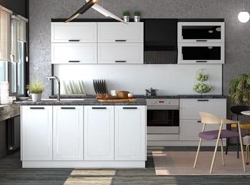 Кухня Порту, Белый матовый