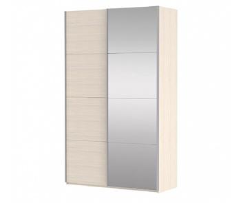 Шкаф-Купе Прайм 2-х дверный ЛДСП/Зеркало, 1600х570х2300 мм, Е1