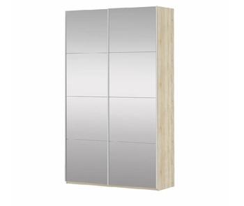 Шкаф-Купе Прайм 2-х дверный Зеркало/Зеркало, 1600х570х2300 мм, Е1