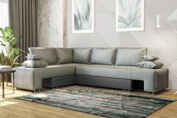 Угловой диван Премьер с ящиком 2850х2100, Боровичи мебель