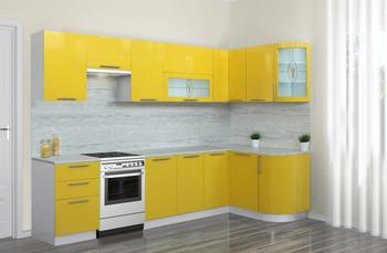 Кухня Трапеза Престиж 1335х2350, 2 категория, Боровичи мебель
