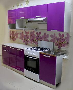 Кухня Трапеза Престиж 1800 с нишей, 2 категория, Боровичи мебель