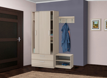 Прихожая-Купе модульная, Боровичи мебель