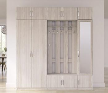 Прихожая Лотос, вариант № 5, 2102х2381х385 мм, Боровичи мебель