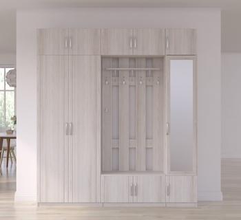 Прихожая Лотос, вариант № 5, 2110х385х2374 мм, Боровичи мебель